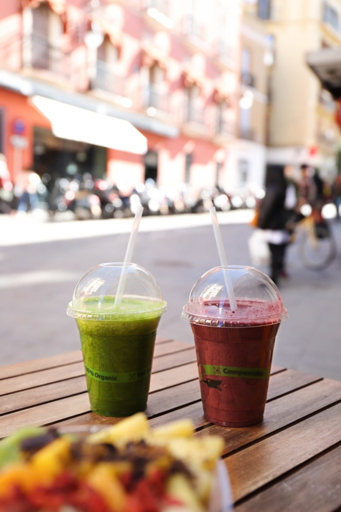 Smoothies Milk Away breakfast, brunch & lunch Seville