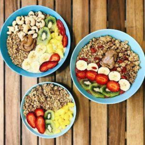 Açai bowls Milk Away breakfast, brunch & lunch Seville